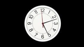 Laps de temps d'horloge d'heure d'hiver illustration de vecteur