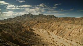 Laps de temps de paysage de désert banque de vidéos