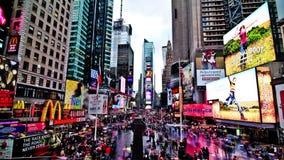 Laps de temps de Times Square clips vidéos