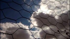 Laps de temps des nuages et du soleil clips vidéos