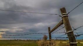 Laps de temps des nuages orageux banque de vidéos
