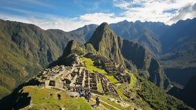 Laps de temps de Machu Picchu banque de vidéos