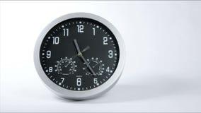 Laps de temps rapide d'horloge 02 banque de vidéos