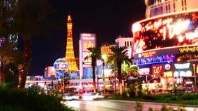 Laps de temps de rue à Las Vegas clips vidéos