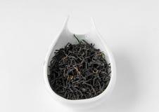 Lapsang-souchong geräucherter schwarzer Tee im chahe Lizenzfreies Stockbild