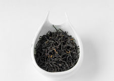Lapsang souchong smoked black tea in chahe Royalty Free Stock Image