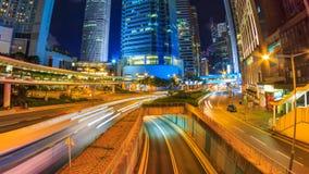 Lapso de Hong Kong Night Cityscape Time metrajes