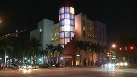 Lapso de tempo da construção de Devo em Miami Beach vídeos de arquivo