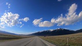 Lapso de tempo da estrada da montanha filme