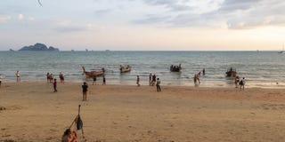 Lapso de tempo da praia do Ao Nang filme