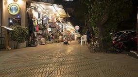 Lapso de tempo da praia do Ao Nang video estoque