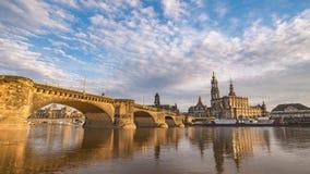 Lapso de tempo de Dresden Alemanha video estoque