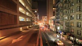 Lapso de tempo de níveis duplos de tráfego - San Francisco filme