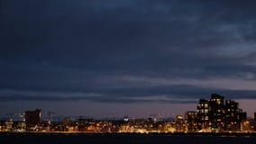 Lapso de tempo de Reykjavik video estoque