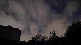 Lapso de tempo do céu de Londres video estoque