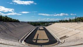 Lapso de tempo do estádio de Panathenaic video estoque