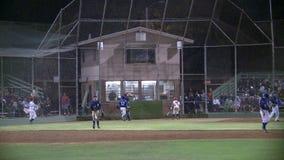 Lapso de tempo do jogo de basebol vídeos de arquivo