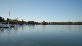 Lapso de tempo do lago Annecy filme
