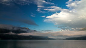Lapso de tempo do lago Brienzer vídeos de arquivo