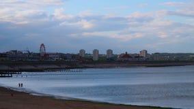 Lapso de tempo do litoral de Aberdeen filme