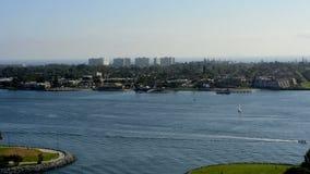 Lapso de tempo do porto em San Diego filme
