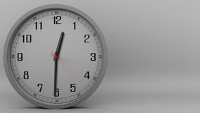 Lapso de tempo do pulso de disparo cinzento que mede fora de 60 minutos (1 hora) metragem 4k video estoque