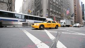 Lapso de tempo do tráfego de NYC - grampo 9 filme