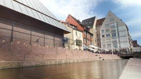 Lapso de tempo em Colmar, França video estoque