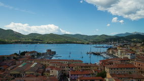 lapso de tempo 4K, d'Elba de Isola, Itália video estoque