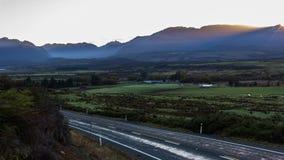 Lapso de tempo 4K do nascer do sol de Foirdland video estoque