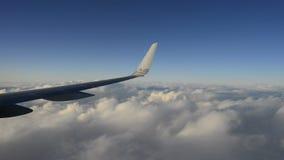 Lapso de tempo sutil do voo dos aviões filme