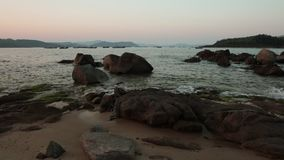 Lapso de tempo Vietname da vista para o mar video estoque