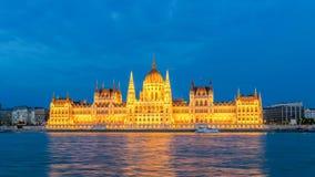 Lapso de tiempo de Budapest Hungría almacen de video