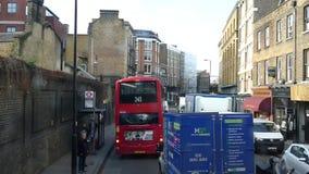 Lapso de tiempo con el tráfico de Londres metrajes