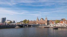 Lapso de tiempo de Amsterdam almacen de video
