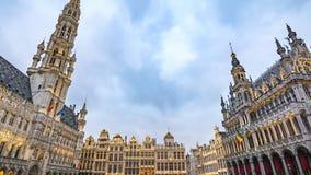 Lapso de tiempo de Bruselas almacen de video