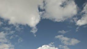 Lapso de tiempo de Cloudscape almacen de metraje de vídeo