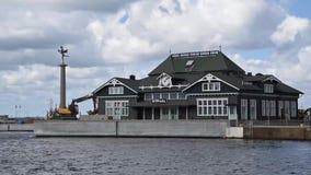 Lapso de tiempo de Helsingborg Tivoli almacen de metraje de vídeo