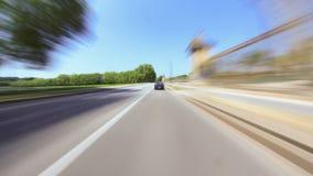 Lapso de tiempo de la conducción a través de Versalles almacen de metraje de vídeo
