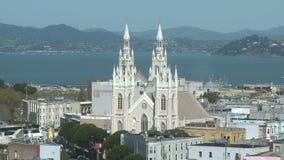 Lapso de tiempo de la descripción de San Francisco Bay City - 2 de 2 almacen de metraje de vídeo