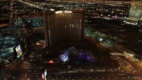 Lapso de tiempo de la descripción del hotel de Las Vegas - 4K - 4096x2304 metrajes
