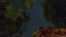 Lapso de tiempo de la estrella Costa Rica almacen de metraje de vídeo