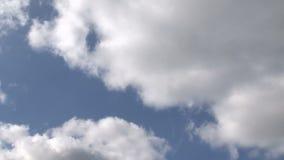 Lapso de tiempo de la mudanza de las nubes metrajes