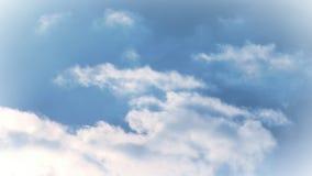 Lapso de tiempo de las nubes 3 almacen de metraje de vídeo