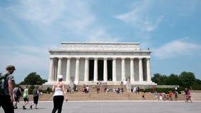 Lapso de tiempo de Lincoln Memorial - 4K - 4096x2304 metrajes