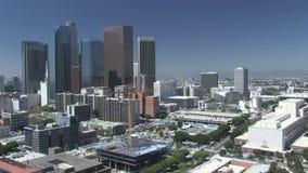 Lapso de tiempo de Los Ángeles céntrico metrajes