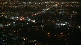 Lapso de tiempo de Los Ángeles desde arriba - 3 de 4 almacen de metraje de vídeo