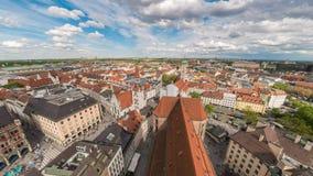 Lapso de tiempo de Munich almacen de video