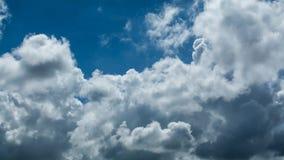 Lapso de tiempo de nubes almacen de metraje de vídeo