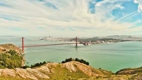 Lapso de tiempo de puente Golden Gate metrajes